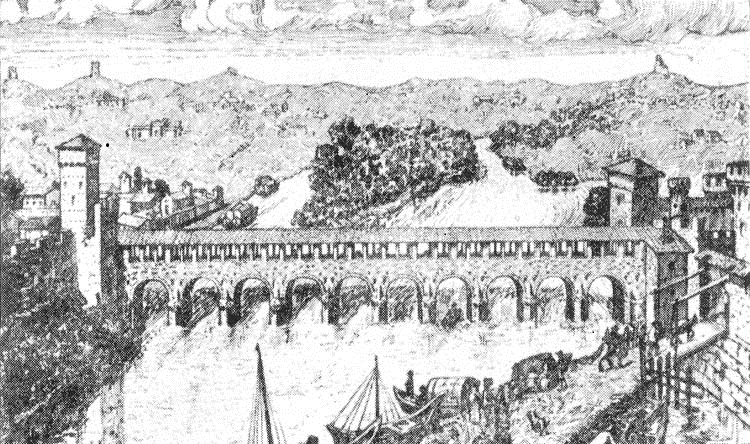 ponte sul Tanaro del 1453