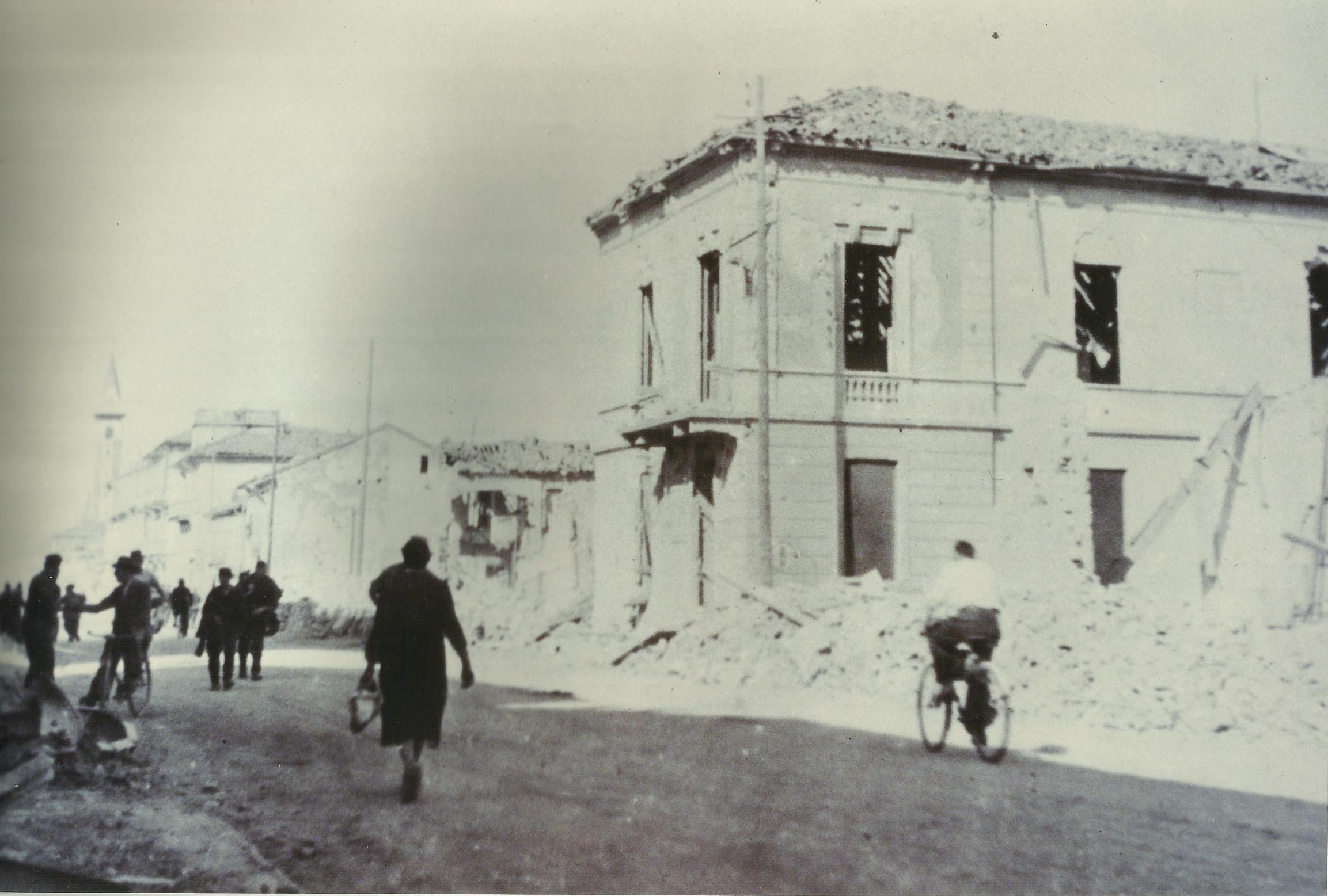 Corso Acqui e soms bombardamenti 1944