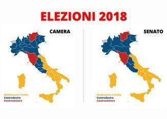 Mappa risultati elezioni 2018