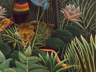 """Dipinto """"naif"""" di Henri Rousseau"""