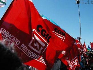 bandiera pensionati Cgil