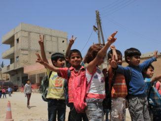 i bimbi di Kobane